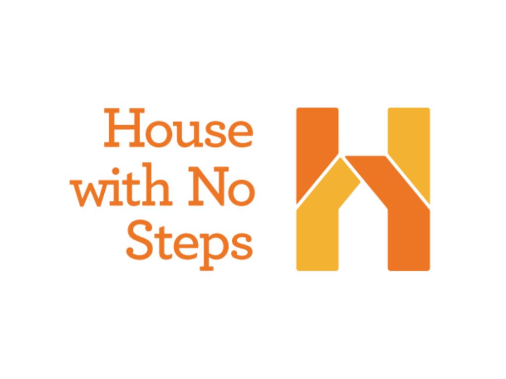 house with no steps logo